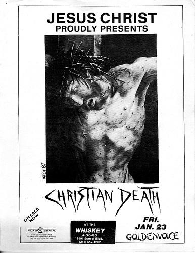 Christian Death @ Hollywood CA 1-23-87