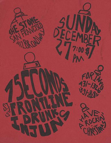 7 Seconds-Frontline-DI @ San Francisco CA 12-27-87