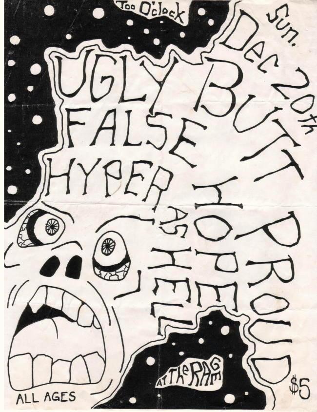 Ugly Butt Proud-False Hope-Hyper As Hell 12-20-87