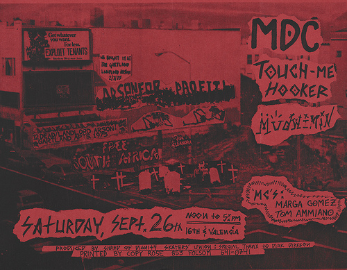 MDC-Touch Me Hooker-Mudwimin @ San Francisco CA 9-26-87