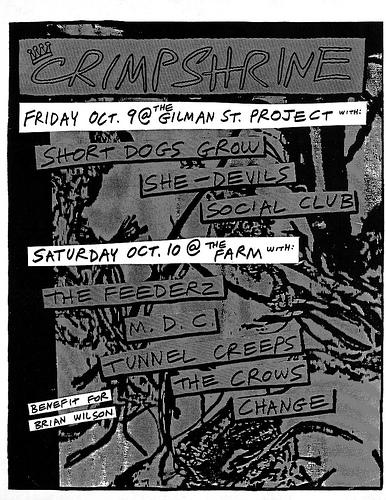 Crimpshrine October 1987