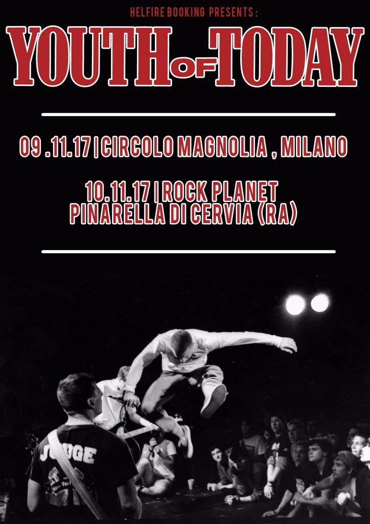 Youth Of Today @ Milano Italy 11-9-17