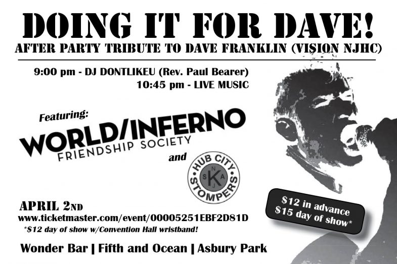 Doing It For Dave After Party 4-2-17