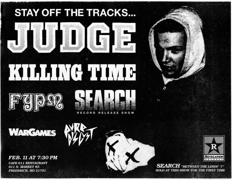 Judge-Killing Time-Fuck You Pay Me-Search-War Games-Pure Disgust @ Frederick MD 2-11-17