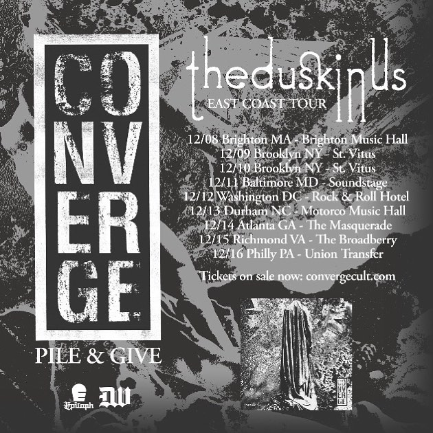 Converge-Give-Pile Tour 2017