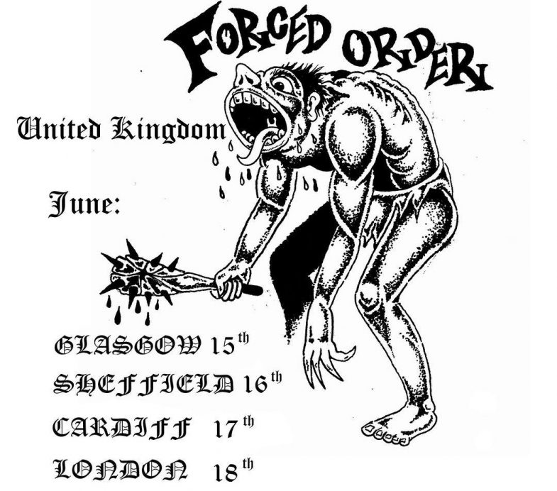 Forced Order UK Tour 2017