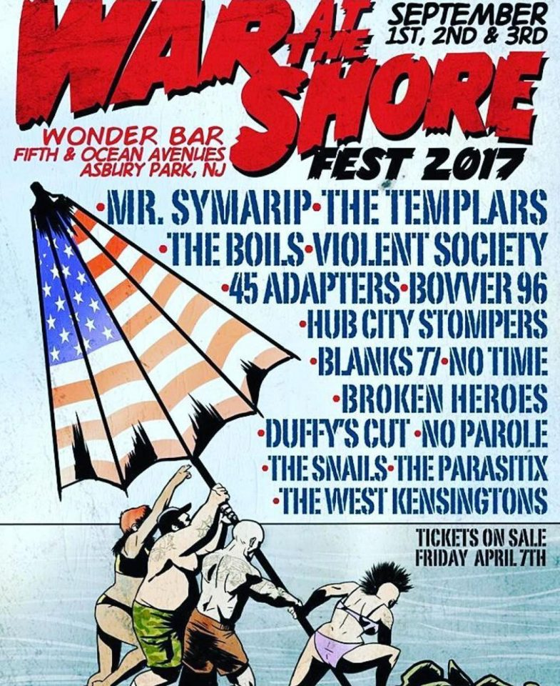 War At The Shore Fest 2017
