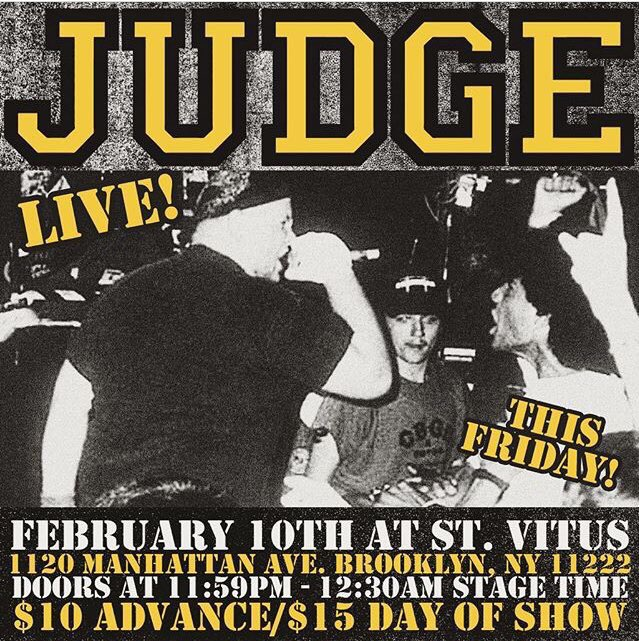 Judge @ Brooklyn NY 2-10-17