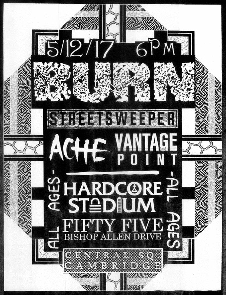 Burn-Streets Sweeper-Ache-Vantage Point @ Cambridge MA 5-12-17