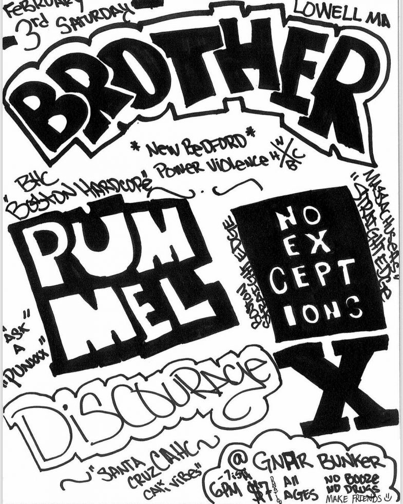 Brother-Pummel-No Exceptions-Discourage @ Lowell MA 2-3-18