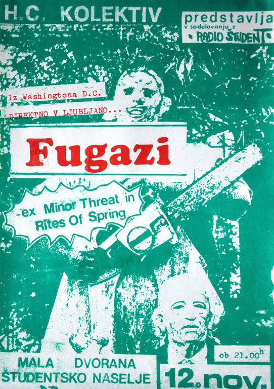 Fugazi @ Ljubljana Yugoslavia 11-12-88