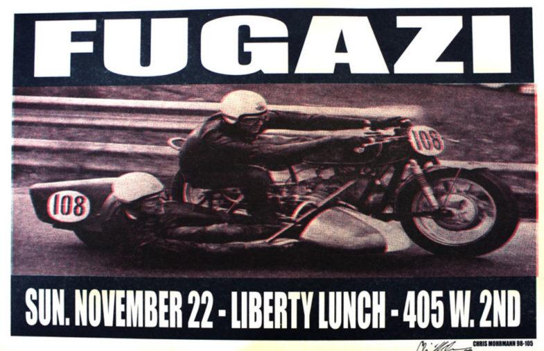 Fugazi @ Austin TX 11-22-88