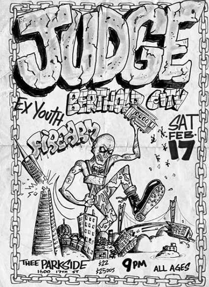 Judge-Ex Youth-Fire Arm @ San Francisco CA 2-17-18
