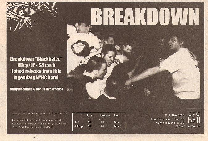 Breakdown (Eyeball Records)