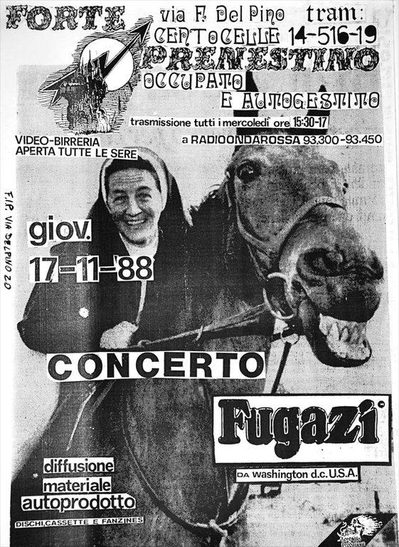 Fugazi @ Rome Italy 11-17-88