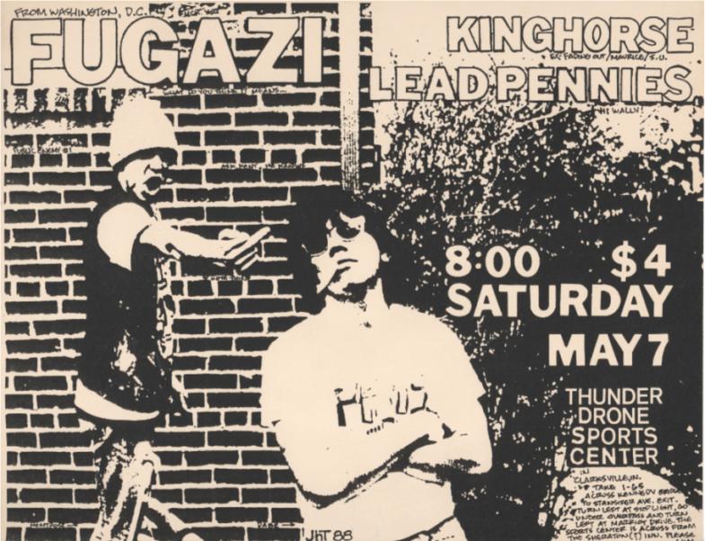 Fugazi-King Horse-Lead Pennies @ Chicago IL 5-7-88