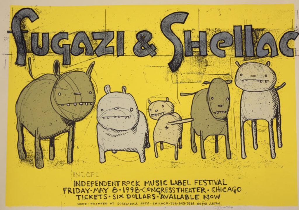 Fugazi-Shellac @ Chicago IL 5-8-98