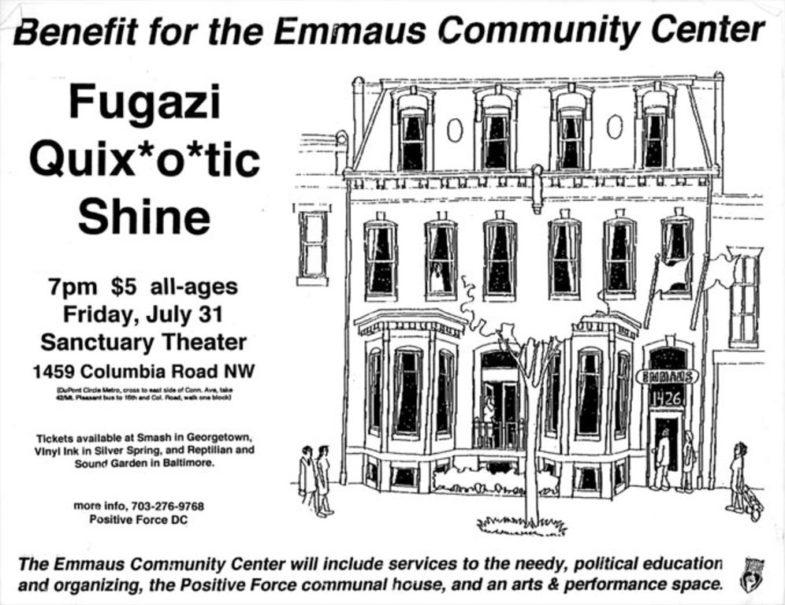 Fugazi-Quixotic-Shine @ Washington DC 7-31-98