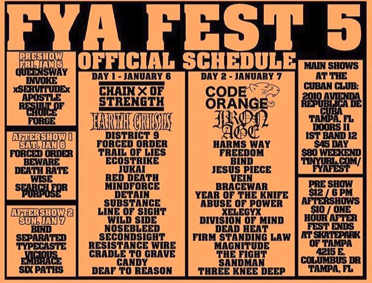 FYA Fest 2018