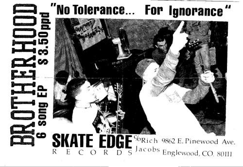 Brotherhood (Skate Edge Records)