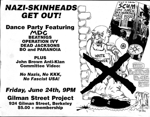 MDC-Beatnigs-Operation Ivy-Dead Jacksons @ Berkeley CA 6-24-88