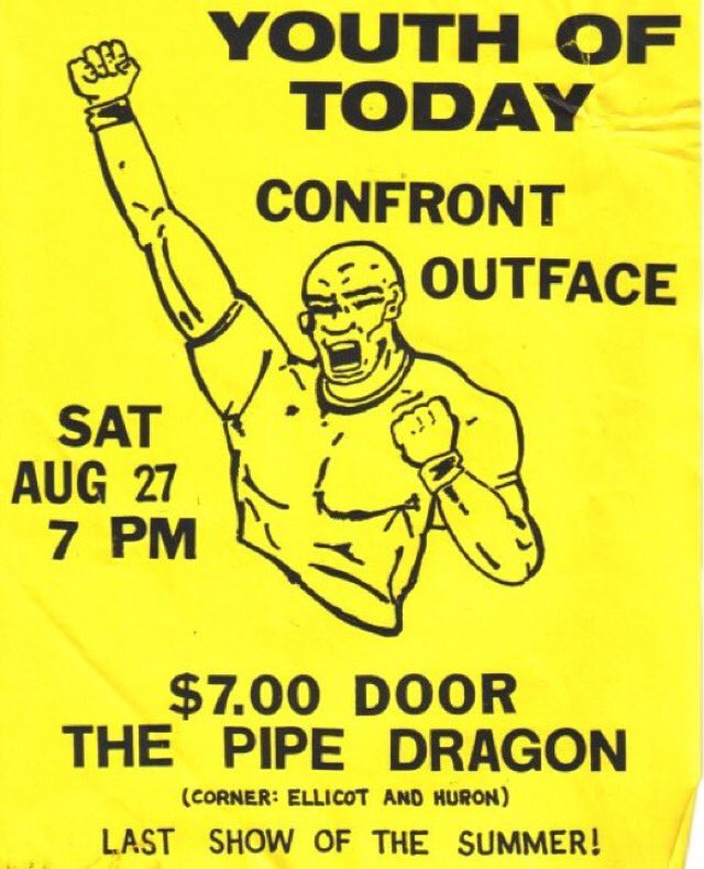 Youth Of Today-Confront-Outface @ Buffalo NY 8-27-88