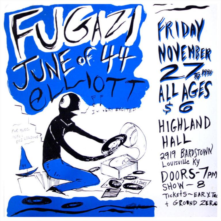 Fugazi-June Of 44-Elliot @ Louisville KY 11-27-98