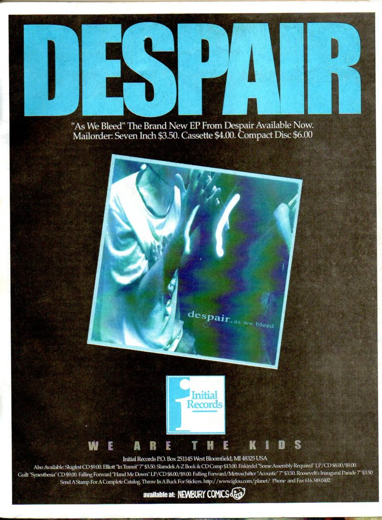 Despair (Initial Records)