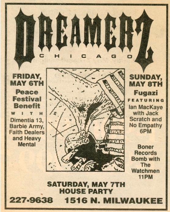 Fugazi-No Empathy @ Chicago IL 5-8-88