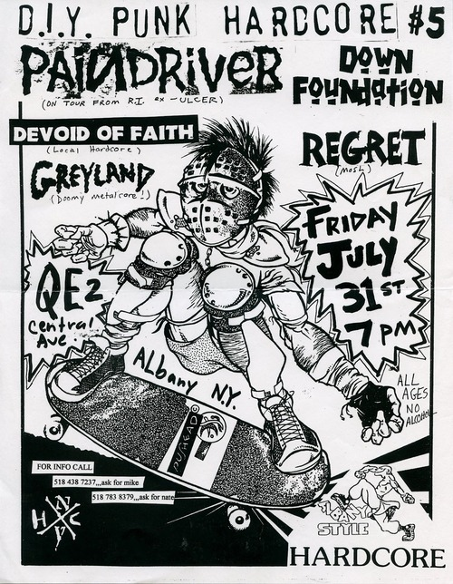 Paindriver-Down Foundation-Devoid Of Faith-Regret-Greyland @ Albany NY 7-31-98