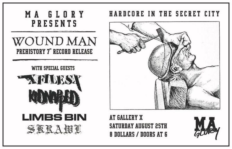 Wound Man-xFilesx-Kidnapped-Limbs Bin-Skrawl @ Boston MA 8-25-18