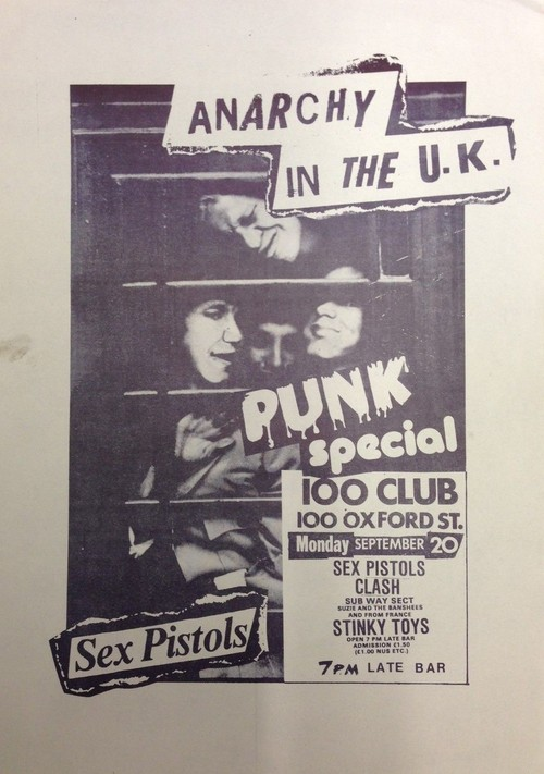 Sex Pistols-The Clash @ London England 9-20-76
