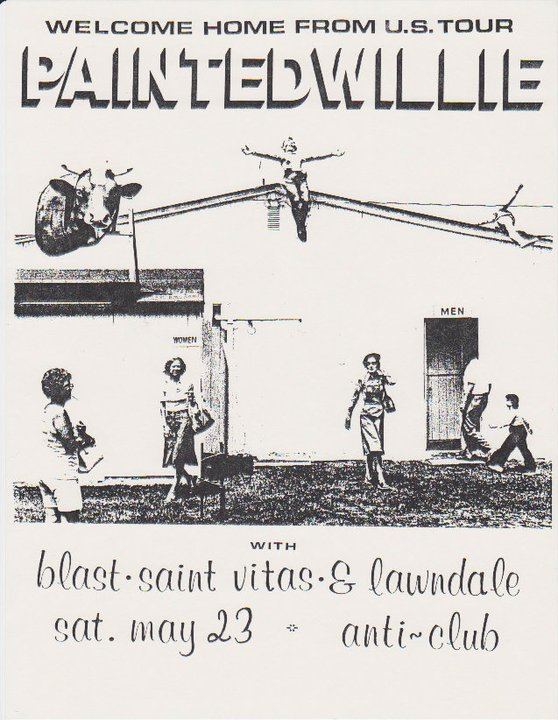 Painted Willie-Bl'ast!-Saint Vitus-Lawndale @ Los Angeles CA 5-23-87