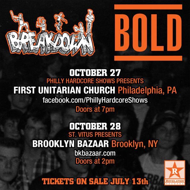 Bold-Breakdown @ Philadelphia PA 10-27-18
