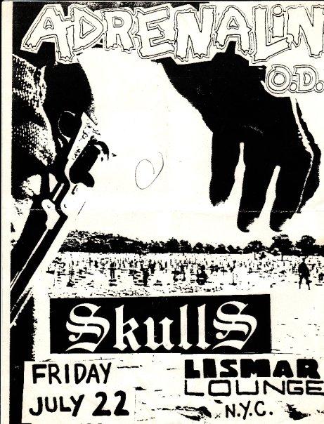 Adrenalin OD-Skulls @ New York City NY 7-22-88
