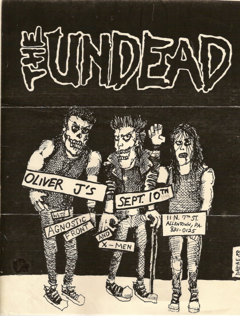 The Undead-Agnostic Front-X Men @ Allentown PA 9-10-88