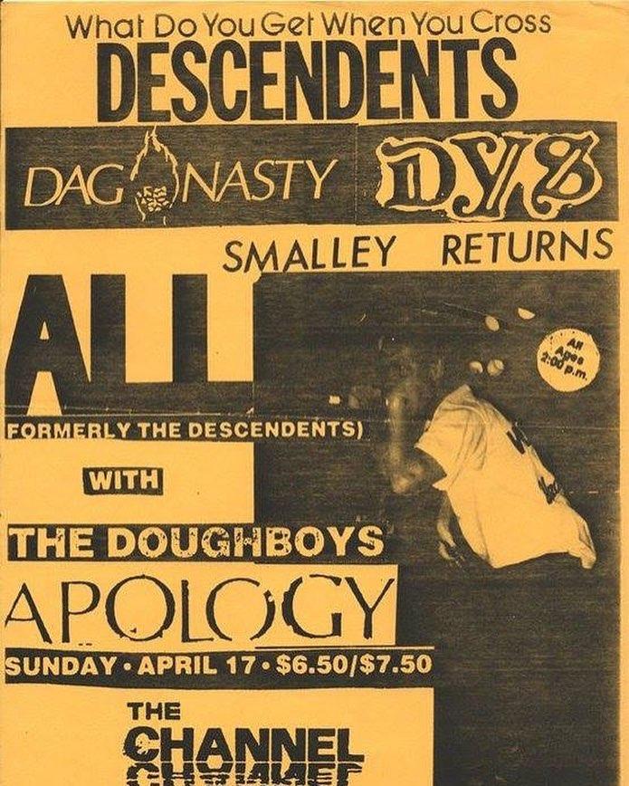 All-Doughboys-Apology @ Boston MA 4-17-88