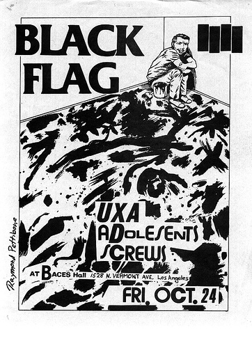 Adolescents-Black Flag-Screws-UXA @ Baces Hall Los Angeles CA 10-24-80