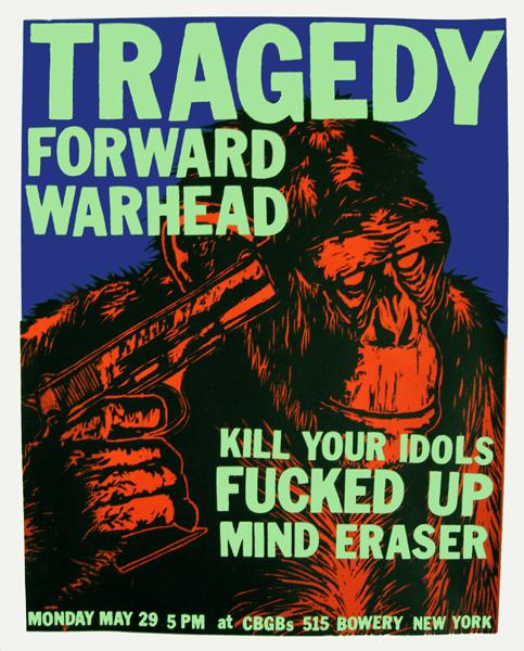 Forward-Fucked Up-Kill Your Idols-Mind Eraser-Tragedy-War Head @ CBGB NYC NY 5-29-06