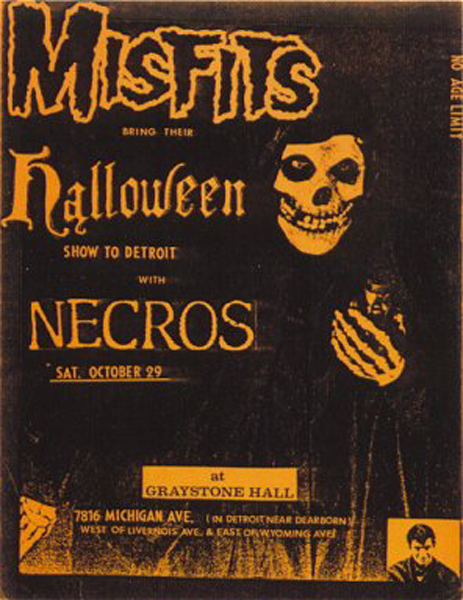 Misfits-Necros @ Graystone Hall Detroit MI 10-29-83