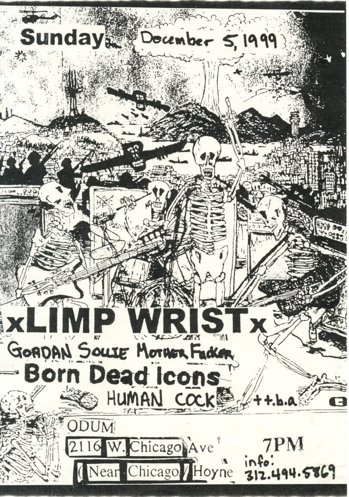 Gordon Solie Motherfuckers-Limp Wrist-Etc @ Odum Chicago IL 12-5-99