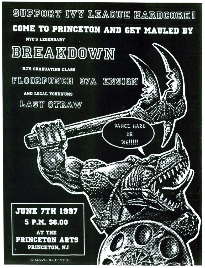 Floorpunch-Ensign-97a-Breakdown-Last Straw @ Princeton Arts Council Princeton NJ 6-7-97