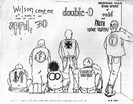 Minor Threat-Double O-Artifical Peace-Iron Cross-Void-The Faith @ Wilson Center WDC 4-30-81