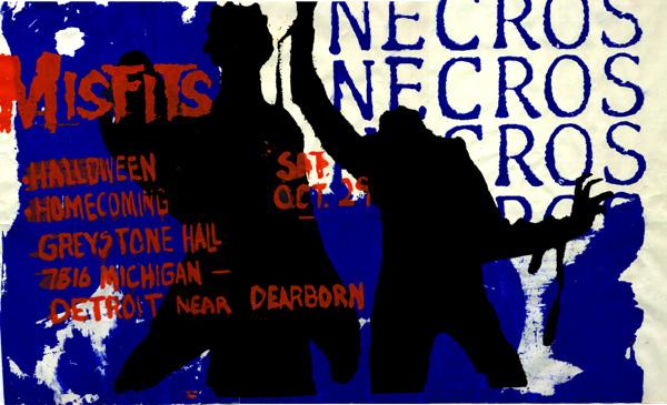 Misfits-Necros @ Greystone Hall Detroit MI 10-29-83