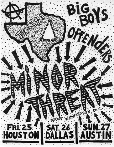 Minor Threat In Texass 1983