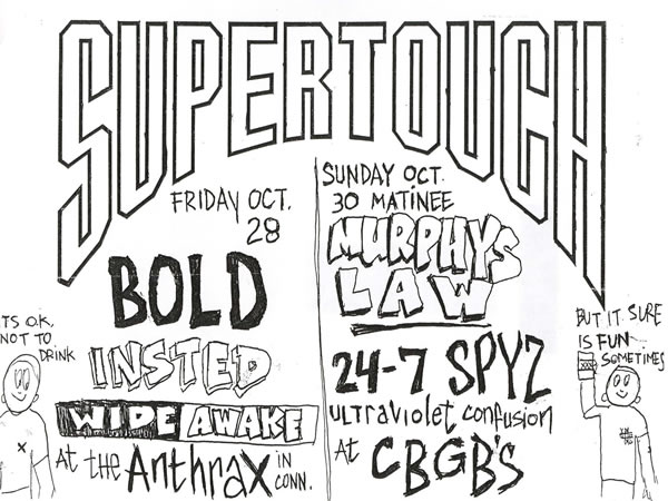 Supertouch Weekend 10-88