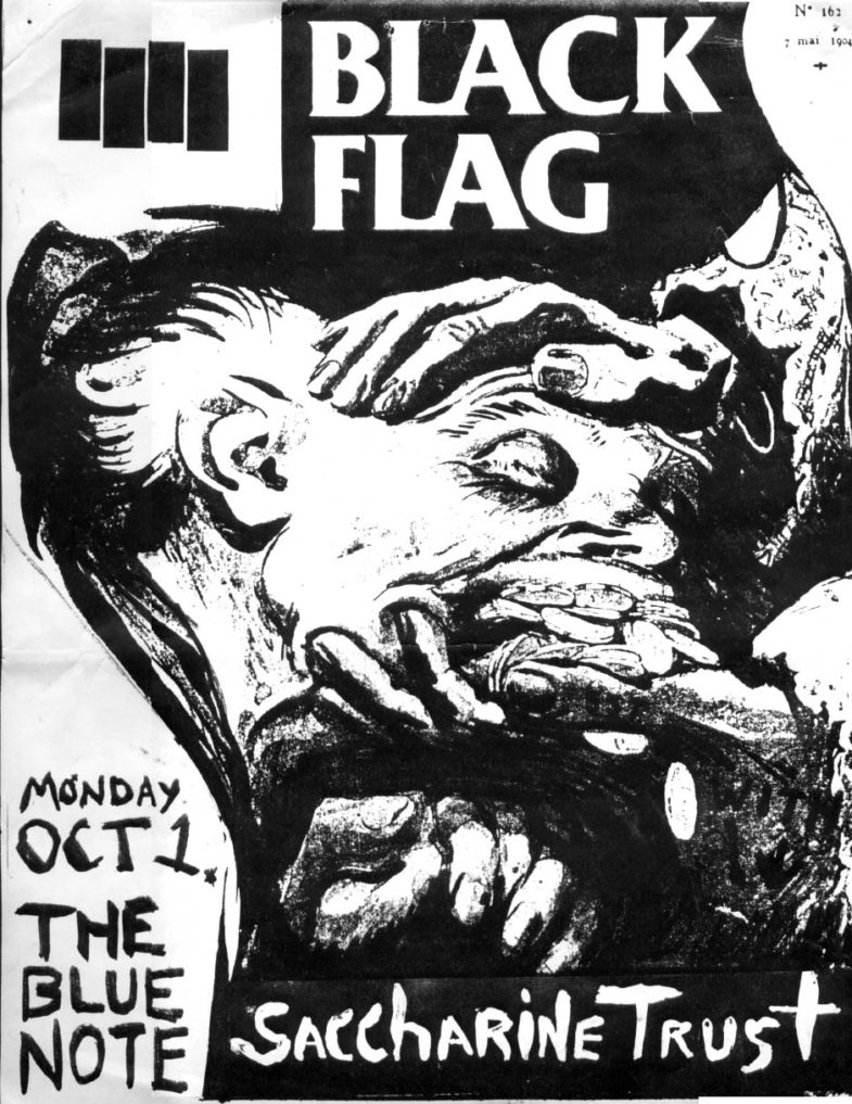 Black Flag-Saccharine Trust @ The Blue Note Columbia MO 10-1-84