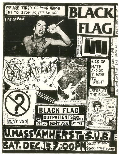 Black Flag-Fear-Circle Jerks-China White @ Stardust Ballroom Hollywood CA 2-11-81