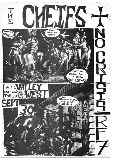 The Cheifs-No Crisis-RF7 @ Valley West Tarzana CA 9-30-81