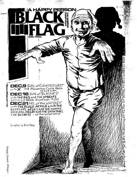 Black Flag December 1979